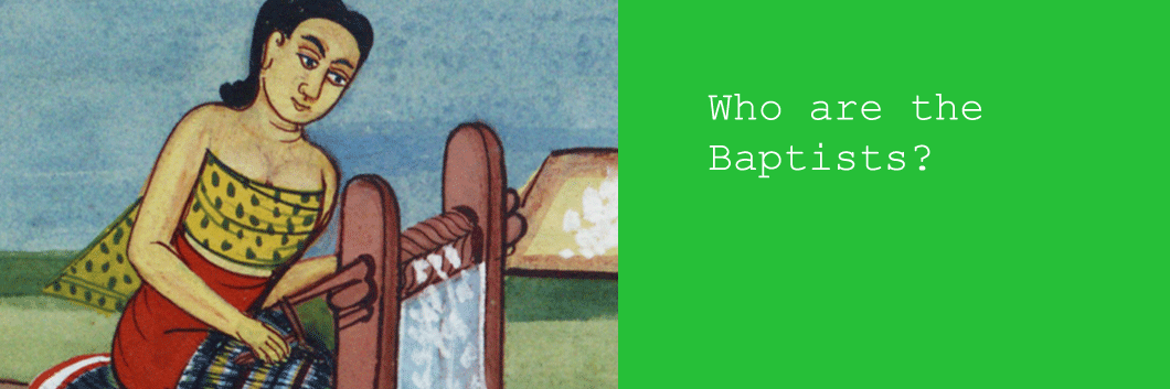 Who are the Baptists?  Find out at the American Baptist Historical Society.